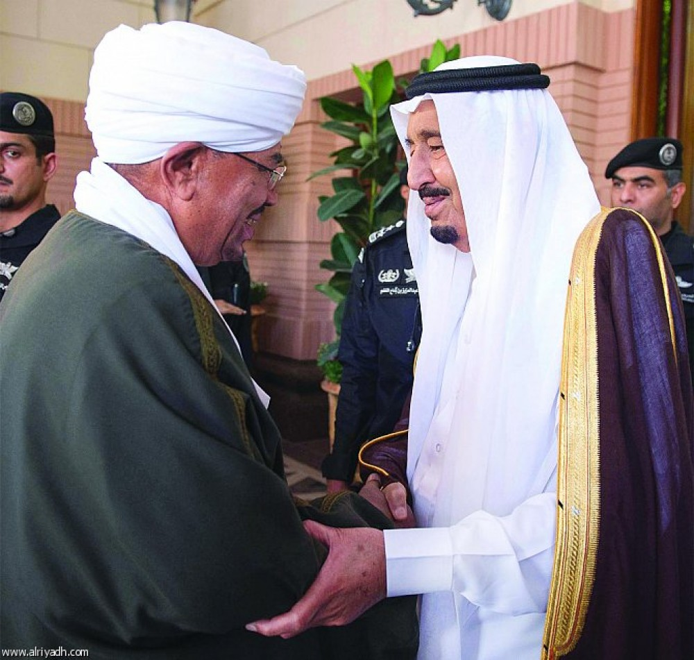 البشير يشكر الملك سلمان على جهوده في رفع العقوبات