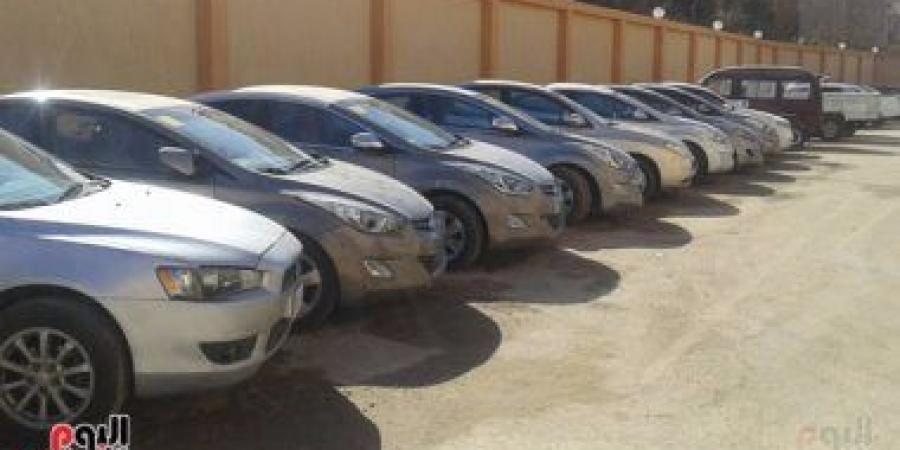 """السلطات تحجز على  """"100"""" عربة و """"67"""" قطعة أرض مملوكة لضابط أمن متقاعد"""