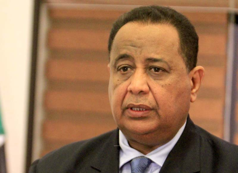 وزير الخارجيه الاثيوبي يصل البلاد