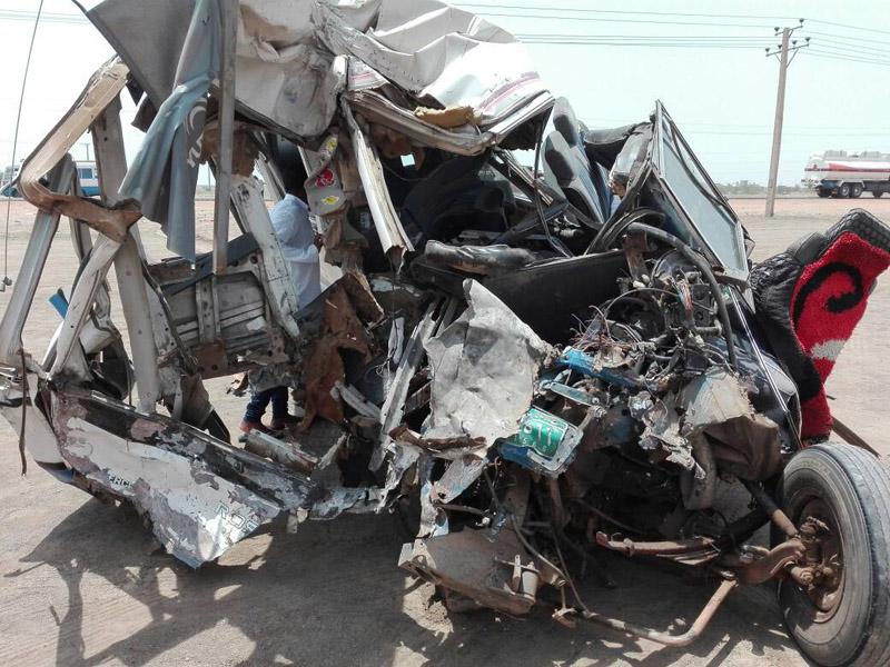 وفاة (5) أشخاص في حادث مروري بكوبري حنتوب