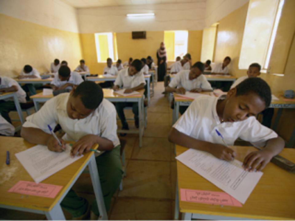 انطلاق الامتحانات التجريبية لمرحلة الأساس بالجنينة بغرب دارفور