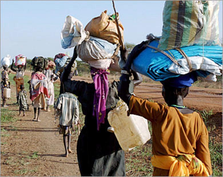 عودة 55ألف نازح من اثيوبيا  لولاية النيل الازرق