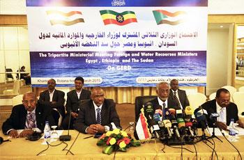 اتفاق على عقد قمة لرؤساء دول سد النهضة