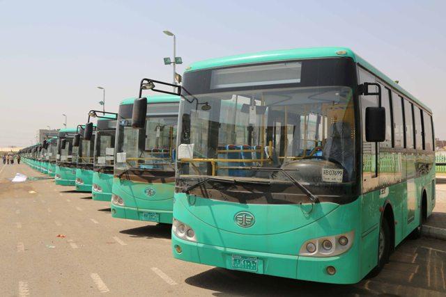 وصول الدفعة الأولى من باصات المواصلات إلى الخرطوم