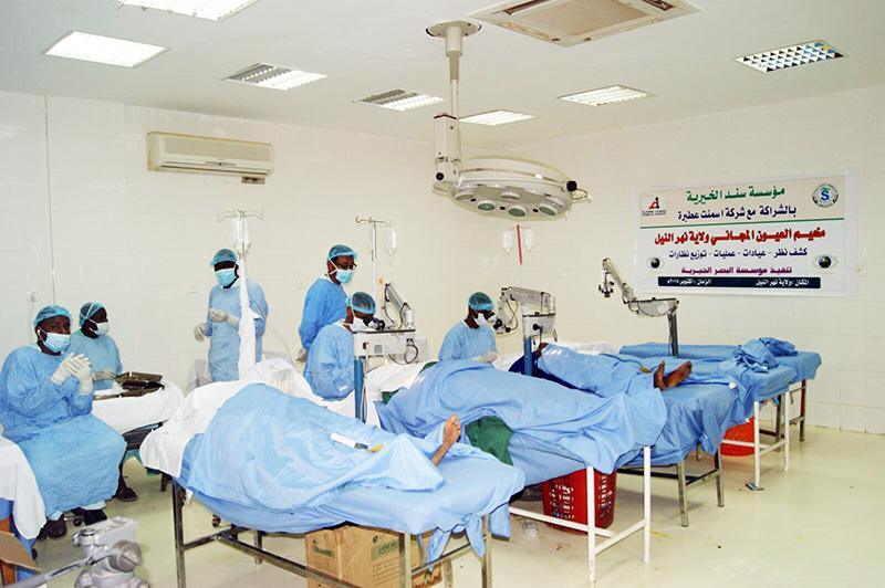 منظمة دواء بلا حدود و الجمعية السودانية التركية للإغاثة الطبية يقيمان يوما علاجيا بمنطقة البجراوية