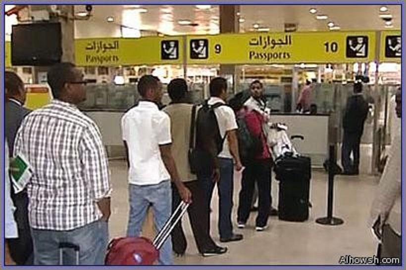 بالفيديو : توثيق ونشر استفزاز المسافرين بمطار الخرطوم