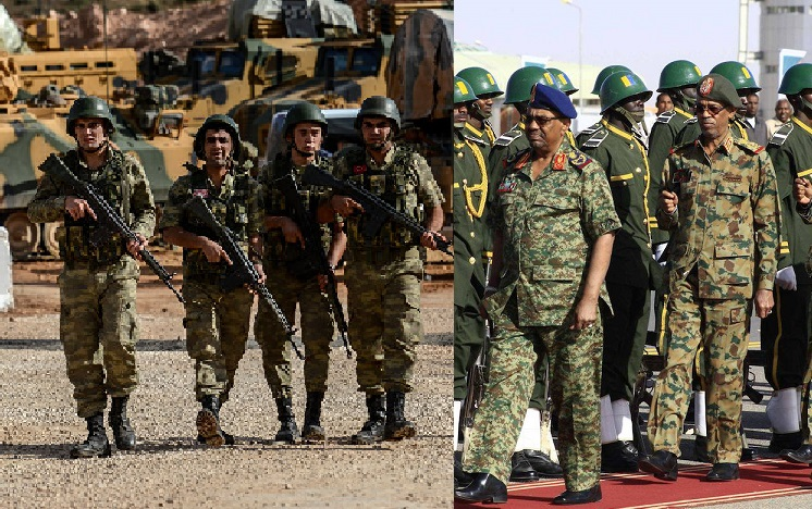 تدريبات عسكرية بين السودان وتركيا