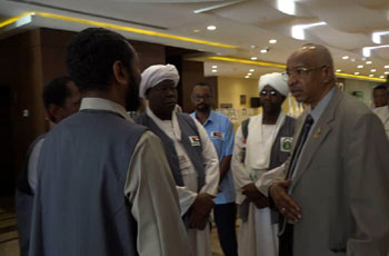وزير الأوقاف يتفقد مقار الحجيج السوداني ميدانياً