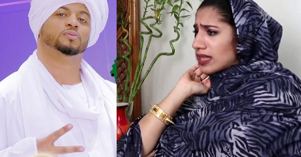 بالفيديو : سعودي يتحدى فتاة سودانية في كلام (الشماسة) ويوضح لها (الرصة)