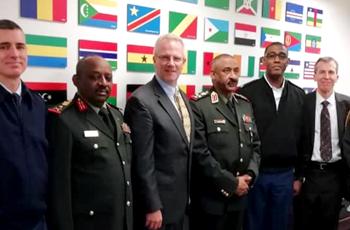 """أمريكا تعوّل على موقع السودان """"الجيوإستراتيجي"""" في أفريقيا"""