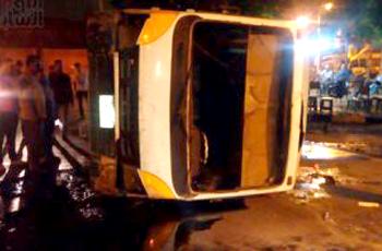"""إصابة 15 سودانياً في حادث مروري بالقرب من """"أسوان"""""""