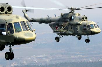 """روسيا تُدرب طيارين سودانيين على مروحية """"مي-17 بي-5"""""""