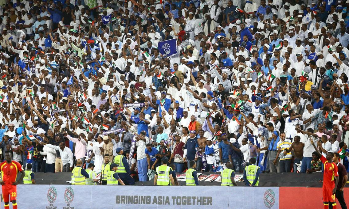 الرميثي يدعو الجالية السودانية لمساندة المنتخب الإماراتي