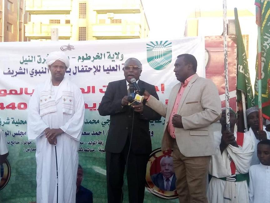 زفة تاريخية بشرق النيل حبا في النبي(ص)