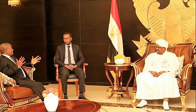 البشير يؤكد دعم السودان لمعالجة قضايا افريقيا