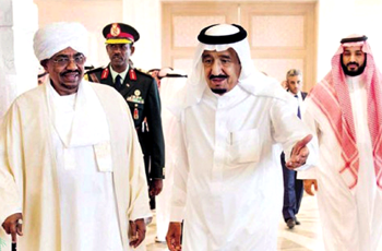 الملك سلمان يُجدِّد دعمه لأمن واستقرار السودان