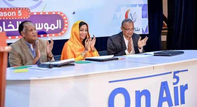 برعاية وزارة الثقافة والإعلام بالخرطوم أربعة متسابقين يتنافسون على لقب نجم الموسم الخامس في مهرجان