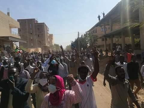 """تفاصيل أحداث تظاهرات """"الخرطوم بحري"""" المنددة بالحكومة السودانية اليوم الأحد"""