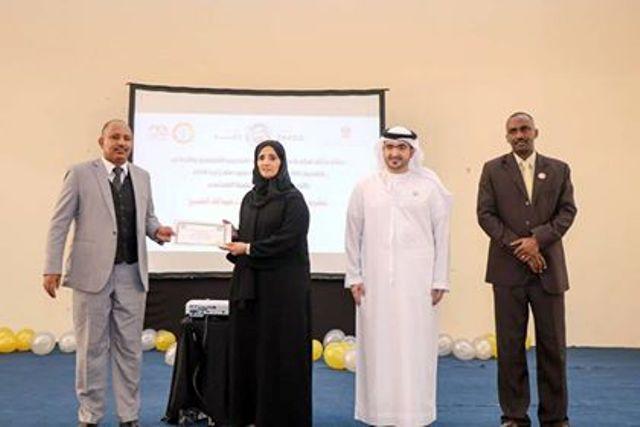 الإمارات.. الشيخة عزة النعيمي تكرم المشاركين في حفل ختام مبادرة معهد المهند