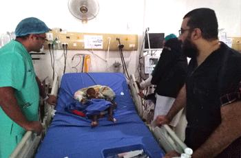 فريق طبي إماراتي يجري عمليات قلب مفتوح بالجزيرة