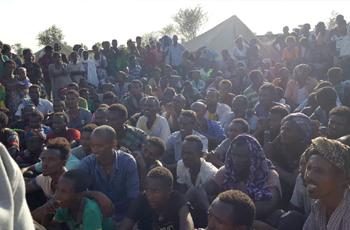 ترحيل 1400 إثيوبي لاستكمال إجراءات اللجوء