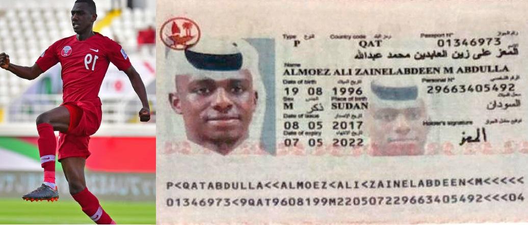 بالفيديو : اتهام قطر بالتزوير في الملفات الخاصة باللاعب السوداني المعز هداف آسيا وعرض الوثائق الأصلية