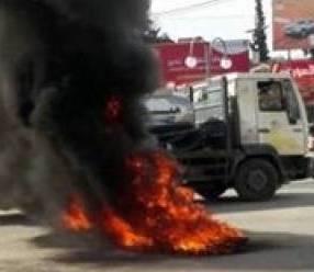 وفاة وإصابة (44) تاجراً في حادثة حركة احتراقا داخل عربة في شمال دارفور