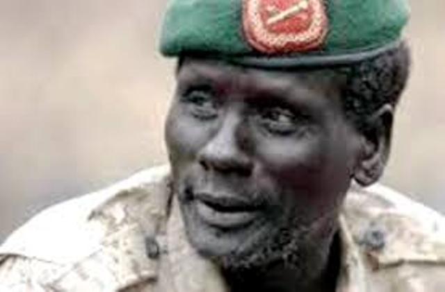 وفاة أقوى جنرال أرعب حكومة الجنوب