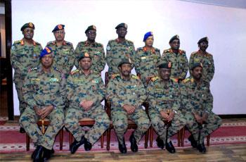 البرهان يجري ترتيبات جديدة في هيئة أركان الجيش