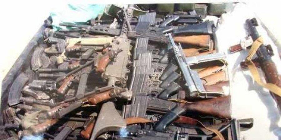 المخابرات تضبط كميات من الأسلحة في طريقها إلى إثيوبيا
