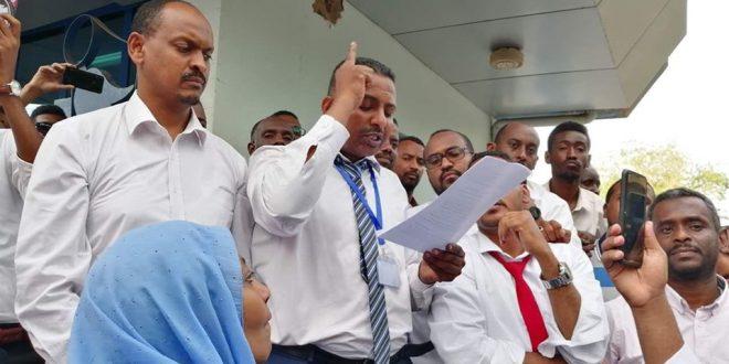 بالفيديو.. حقيقة ما حدث اليوم بفرع بنك السودان المركزي