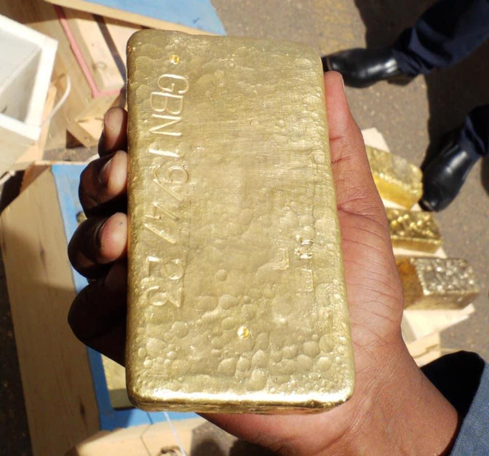 ضبط سبائك ذهبية وأدوية مهربة عبر مطار الخرطوم