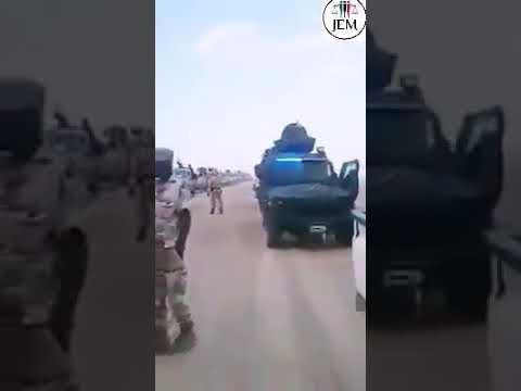 بالفيديو : صنفه رواد المواقع ضمن الشائعات..انتشار فيديو لقوة مسلحة قادمة من ليبيا لدعم المعتصمين