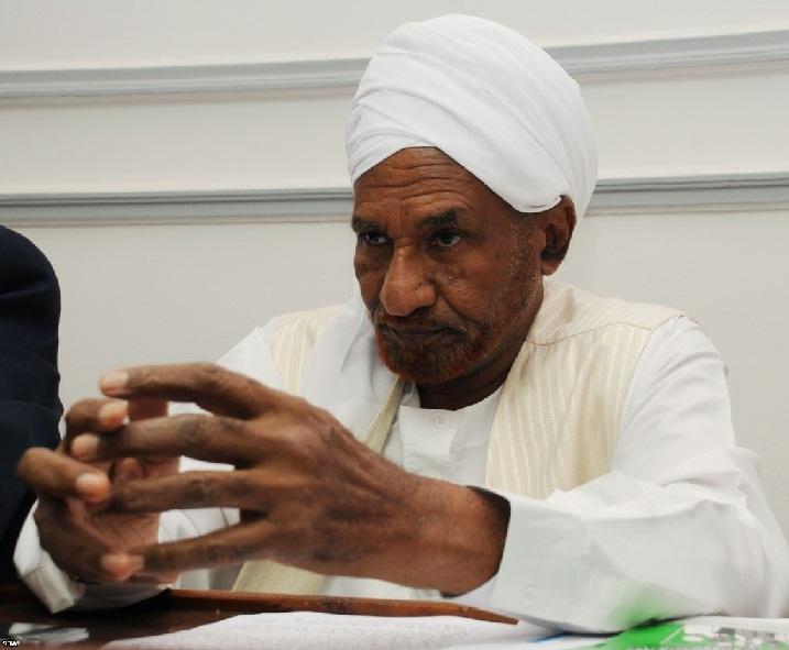 تصريح الإمام الصادق المهدي حول استقالة البدوي