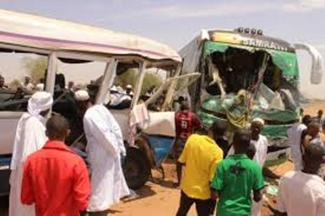 وفاة (7) أشخاص بينهم أطفال في حادث بمدينة بعطبرة