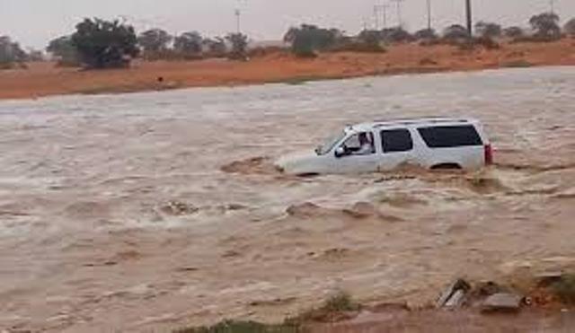 السيول تعجل برحيل (5) أفراد من أسرة واحدة غرقاً