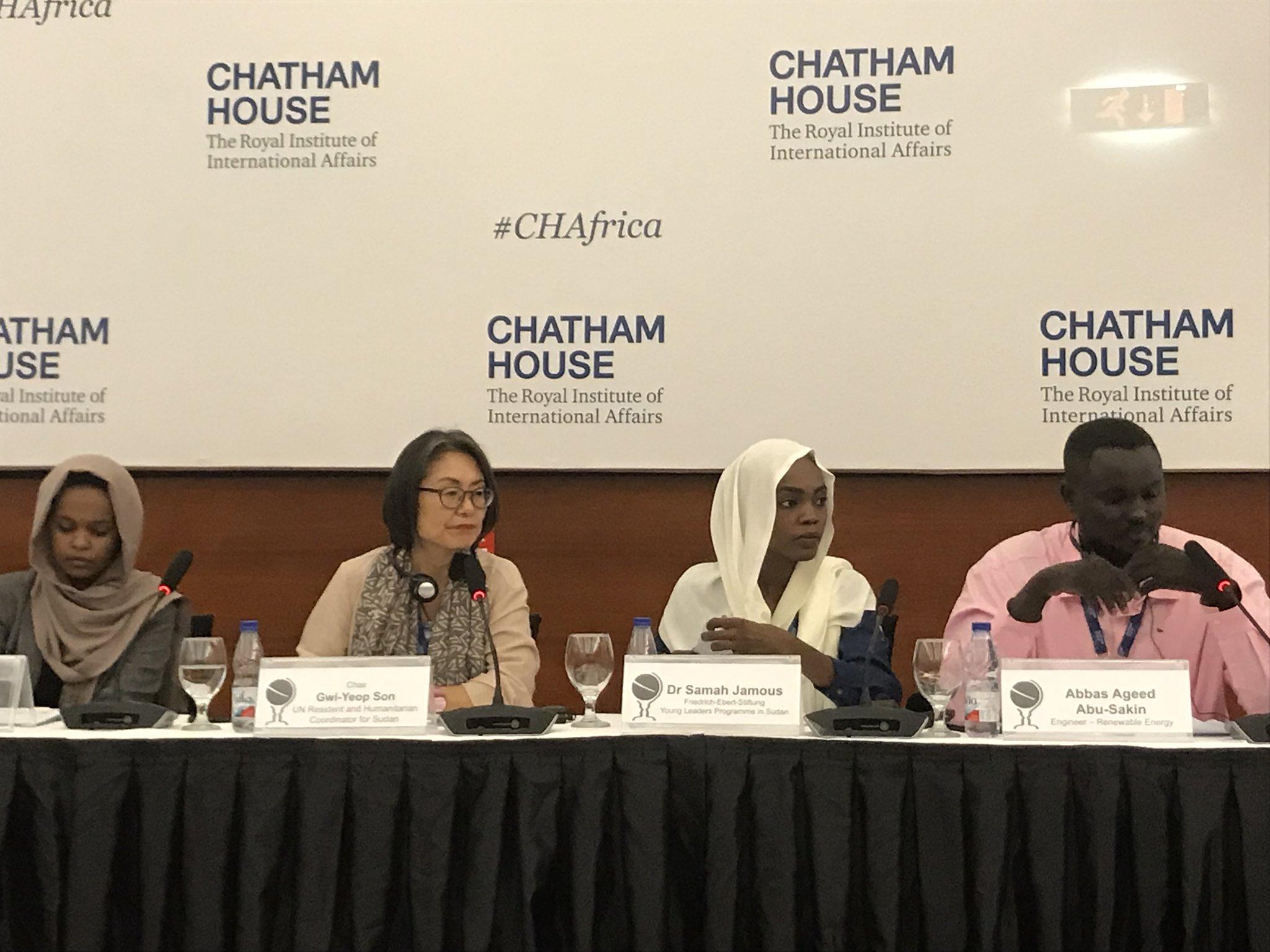 في مؤتمر لـ(تشاتام هاوس) بالخرطوم اقتصاد السودان.. البحث عن طوق نجاة