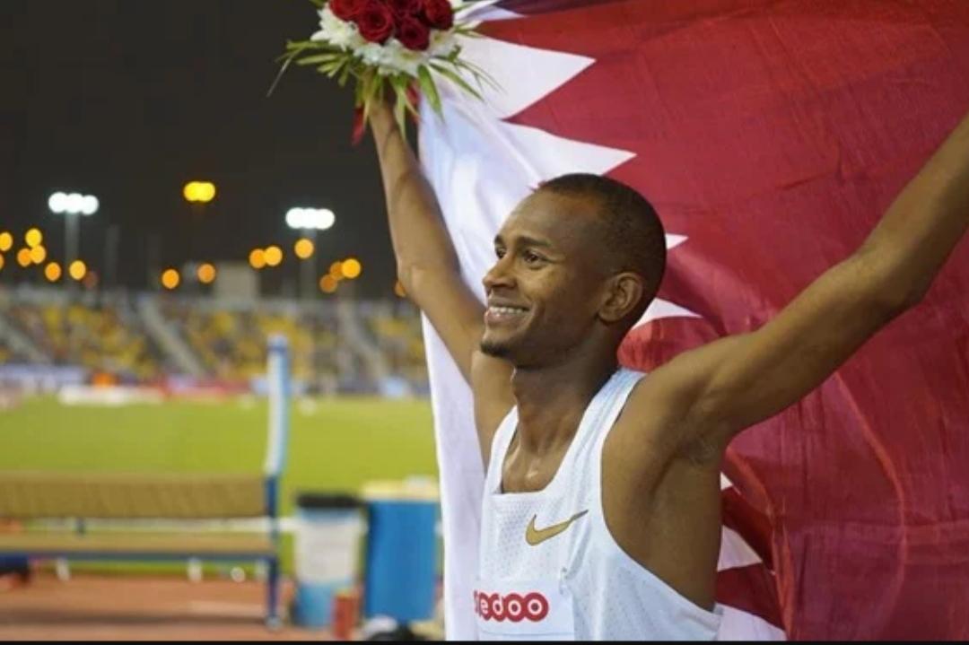 """قطري من أصل """"سوداني"""" يحقق لقطر فوزاً كبيراً في """"بطولة العالم"""" لأول مرة في تاريخها"""