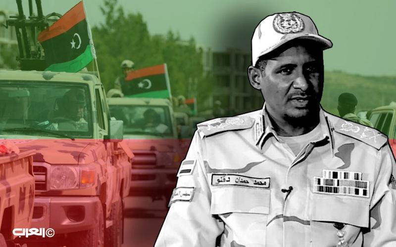 صحيفة لندنية : حملة قطرية إخوانية تستهدف حميدتي انطلاقاً من ليبيا