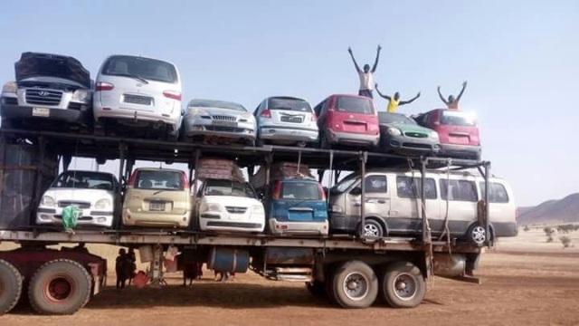 ضبط عربة بوكو حرام بمستندات مزورة جنوب الخرطوم