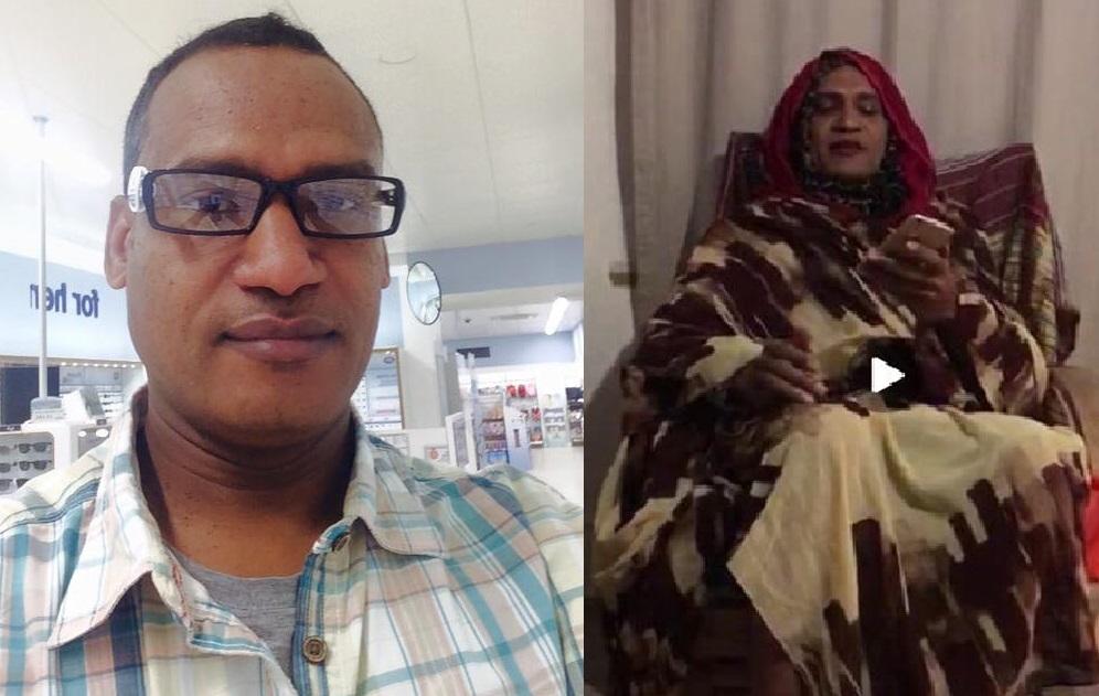 بالفيديو :كوميدي يرجع حجاب السودانيات للكسل وليس التزاماً بالحركة الإسلامية ويقترح أن يتخلصن منه في يوم المرأة العالمي