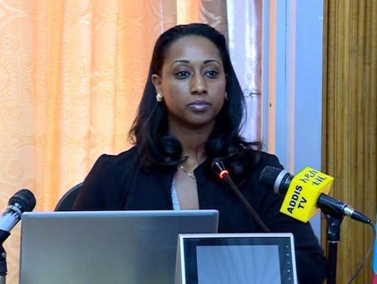 وزيرة النقل الأثيوبية بالخرطوم