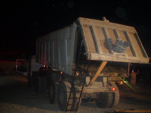 وفاة طفل بمكبس عربة النفايات