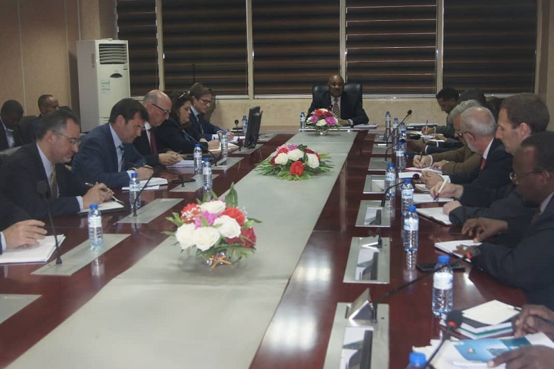 سفراء أوروبيون يؤكدون استعداد بلادهم للتعاون الاقتصادي مع السودان وتقديم الدعم والمساندة
