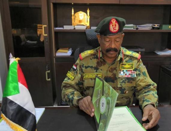 أنور السادات مديراً لهيئة مياه ولاية الخرطوم