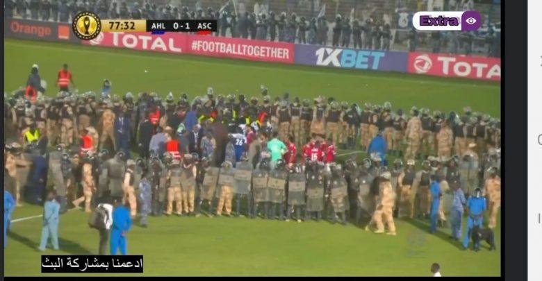 الكاف يرفض استئناف الهلال على خلفية أحداث مباراة الأهلى المصرى