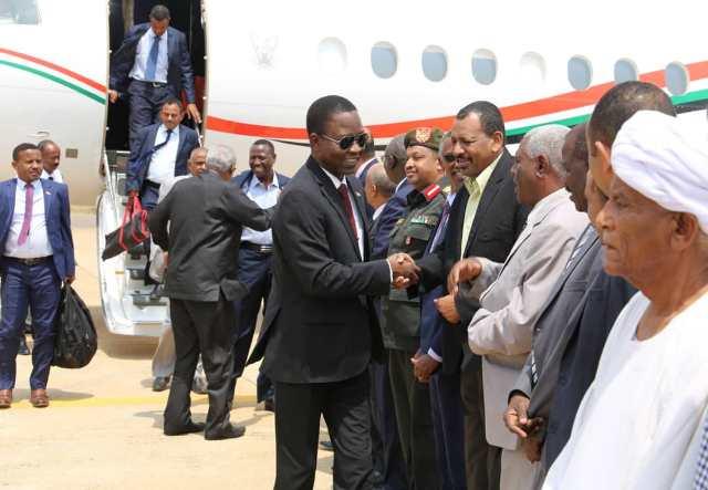 كباشي يصل عاصمة دولة جنوب السودان
