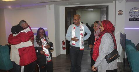 بعثة أبطال الأولمبياد الخاص تعود من القاهرة